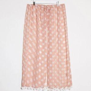 NWT Brave Soul Plus Printed Beach Skirt